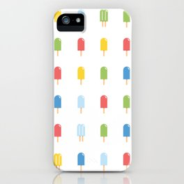 Popsicle Pattern - Bright #426 iPhone Case