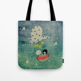 To the end of the heart Tote Bag