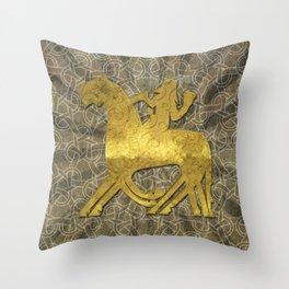 Sleipnir celtic style Throw Pillow