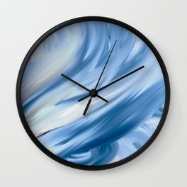 It Comes in Waves (Variation) Wall Clock