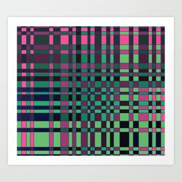 Complementary Composition Version 2 Art Print