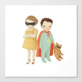Superhero Kids by Emily Winfield Martin Canvas Print