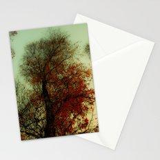 Red Leaf Stationery Cards