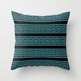 Greek pattern Throw Pillow