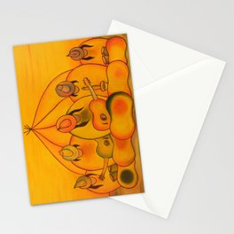 Jellybean Band Stationery Cards