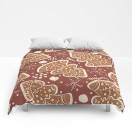 Gingerbread Cookies Comforters
