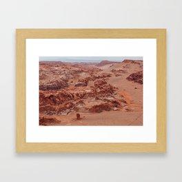 Valle de la Luna, Chile Framed Art Print