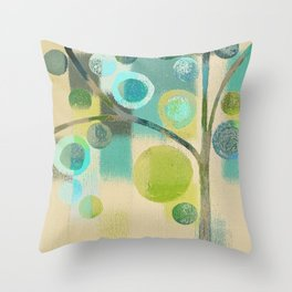 Bubble Tree - 87c2l Throw Pillow