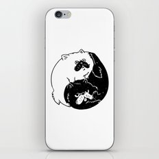 The Tao of Cats iPhone Skin