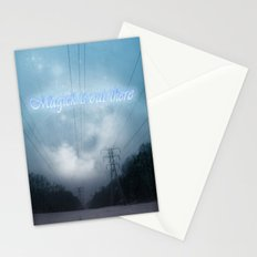 Midnight magick with title Stationery Cards