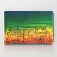 vw bus iPad Cases featuring VW by SerenityBusHome