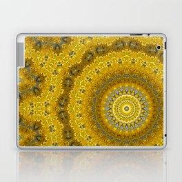 Gelbe Forsithien in Gross Laptop & iPad Skin