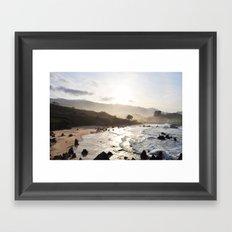 Brave Sea Framed Art Print