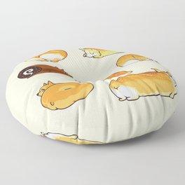 Bread Corgis Floor Pillow