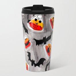 Halloween Candy Corn - Monsters - Trick or Treat Travel Mug