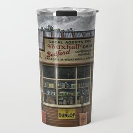 Old village garage. Travel Mug