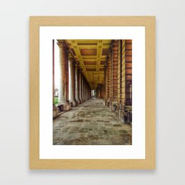 The Painted Hall Framed Art Print