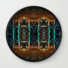 Lost Totems Wall Clock