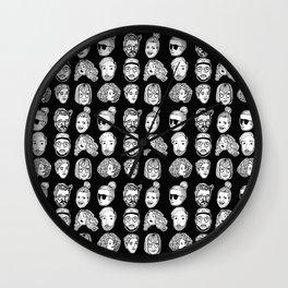 Friendz: B&W  Wall Clock