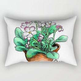 African Violets Rectangular Pillow