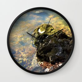 Alone in Secret Hollow with the Caves, Cascades, and Critters, No. 9 of 20 Wall Clock