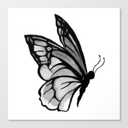 Ink butterfly Canvas Print