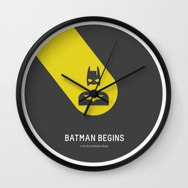 Flat Christopher Nolan movie poster Wall Clock