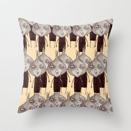 Onions pattern Throw Pillow