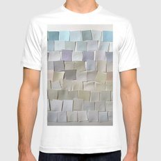 Winter Landscape Mens Fitted Tee White MEDIUM
