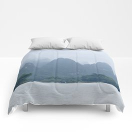 Misty Mountains of Guilin China Comforters