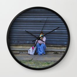 PHOTOGRAPHY - A book is a dream Wall Clock