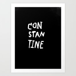 CONSTATINE Art Print