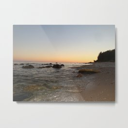South Manitou island's South shore Metal Print