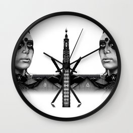 Commander Wall Clock