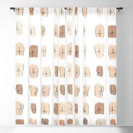 Lotsa Butts! Blackout Curtain
