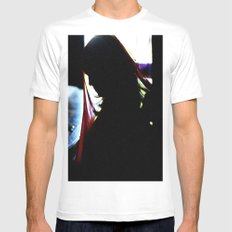 Someday White MEDIUM Mens Fitted Tee