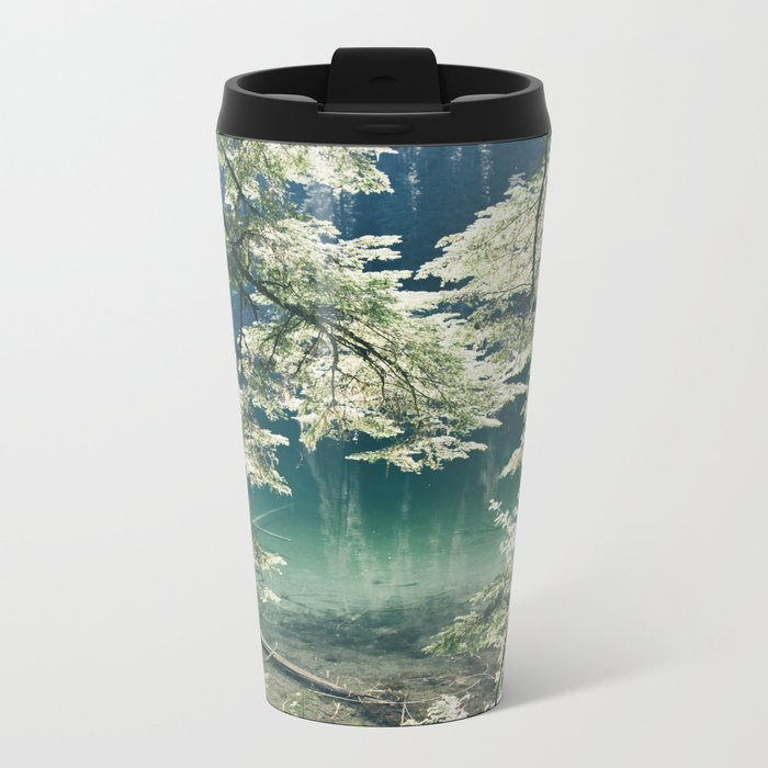 Green Lake Metal Travel Mug
