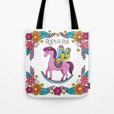 Rock-A-Bye (Pink) Tote Bag