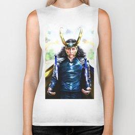 Loki - Ragnarok IV Blue Biker Tank