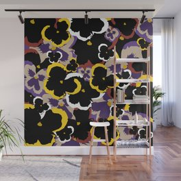 Pansy Love Wall Mural