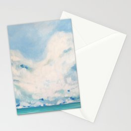 white blur Stationery Cards