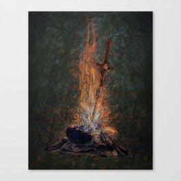 Bonfire of Souls Canvas Print