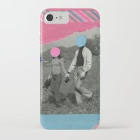 the cure iPhone & iPod Cases featuring The Cure by Naomi Vona