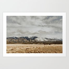 Great Sand Dunes National Park - Mountains II Art Print