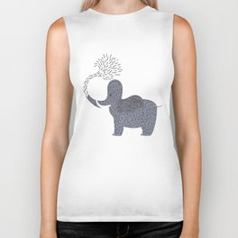 Happy Elephant Biker Tank