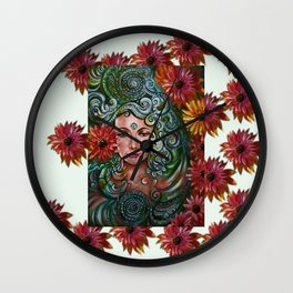 Chakra Sadhna Wall Clock
