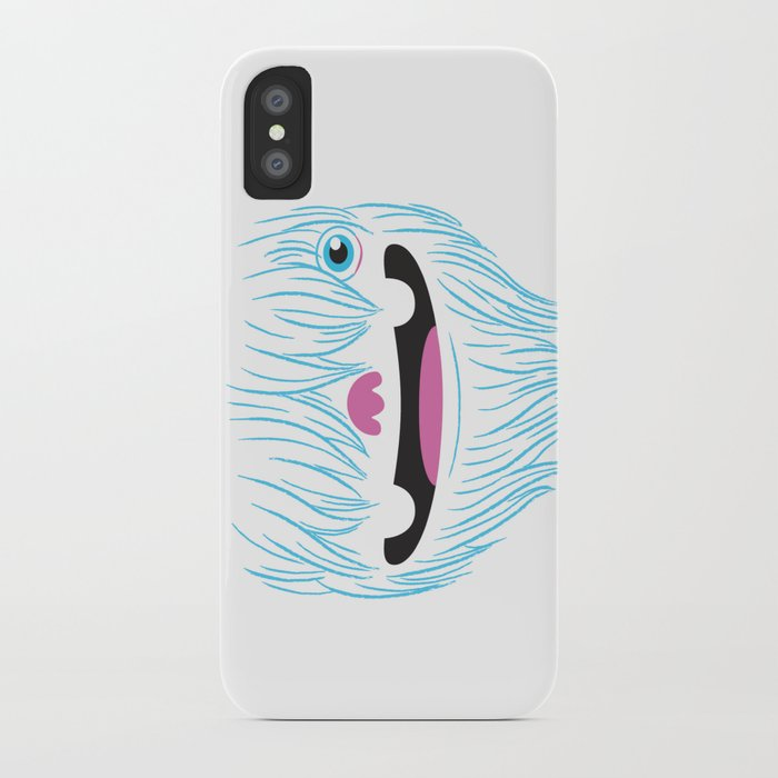Happy Yeti iPhone Case