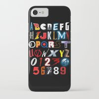 movies iPhone & iPod Cases featuring 'M' is for 'Movies' by Andrew Treherne