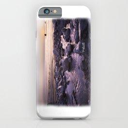 Rocky Sunset iPhone Case
