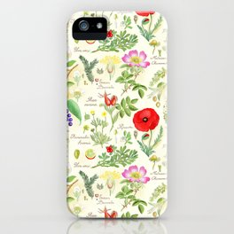Bothanical Sketch iPhone Case